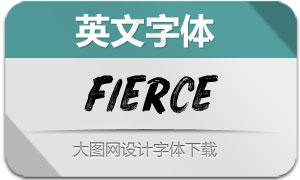 Fierce-Vector(英文字体)
