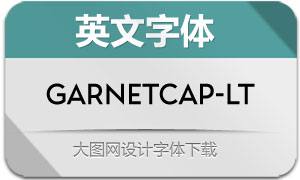 GarnetCapitals-Light(英文字体)