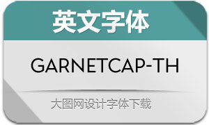 GarnetCapitals-Thin(英文字体)