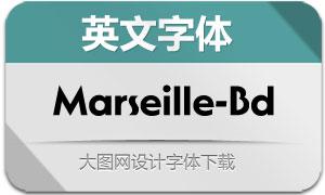 Marseille-Bold(英文字体)