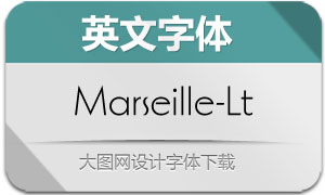 Marseille-Light(英文字体)
