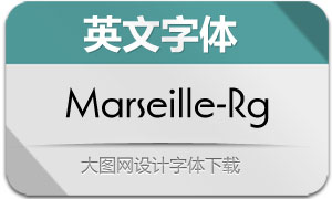 Marseille-Regular(英文字体)