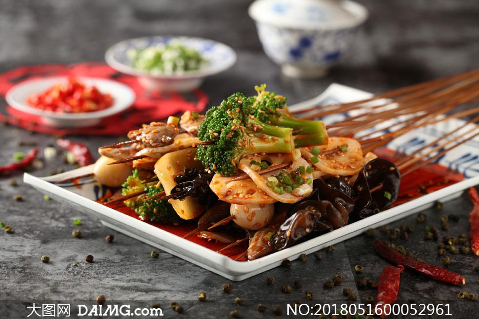 串串香美食高清摄影图片