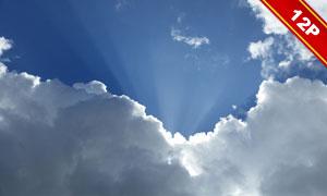 后期合成适用天空云彩高清图片V09