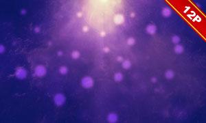 炫丽光效光斑主题背景创意高清图片