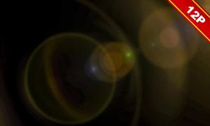 炫丽镜头光晕高光溶图高清图片V02