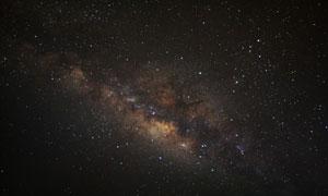浩瀚宇宙繁星點點景象攝影高清圖片