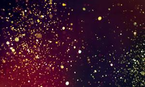 飘散到空中的粉屑光斑创意背景图片
