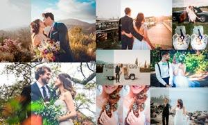 50款专业级婚礼人像后期调色LR预设