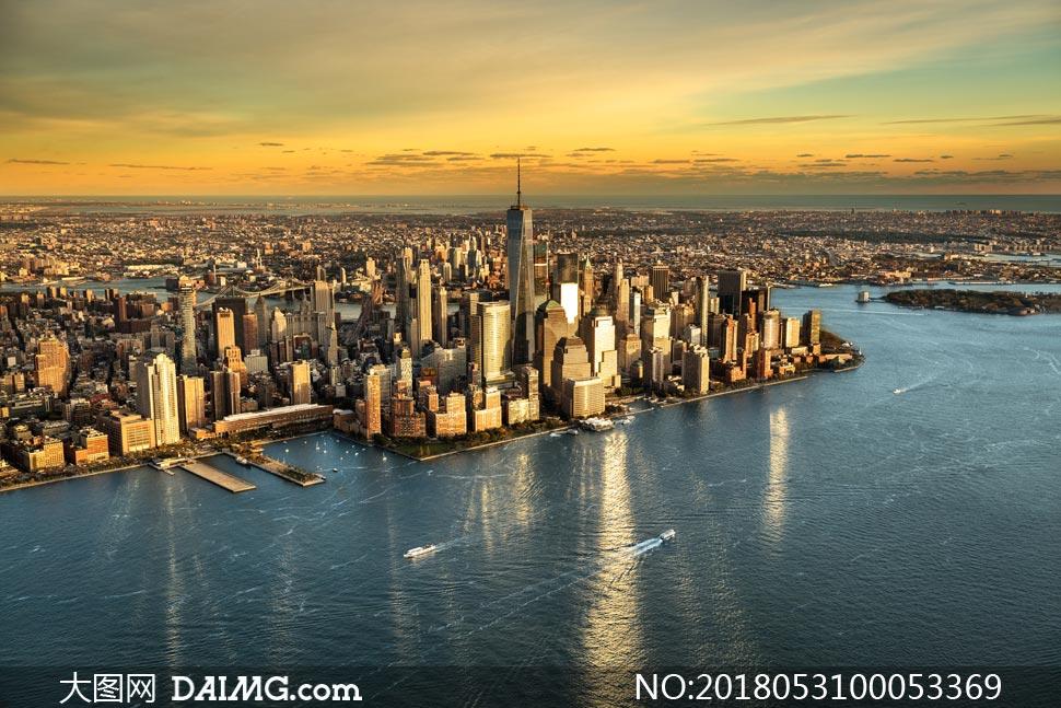 关 键 词: 美国纽约曼哈顿海岛城市建筑物高楼大厦摩天大楼鸟瞰图海岸图片