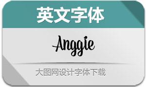 Anggie系列九款英文字体
