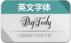 BigTedy系列三款英文字体