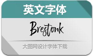 Brestonk(英文字体)