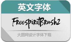 FreespiritBrush2(英文字体)