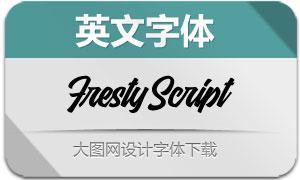 FrestyScript(英文字体)