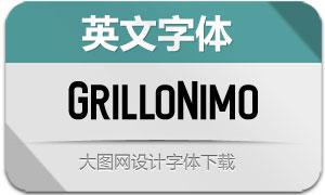 GrilloNimo(英文字体)