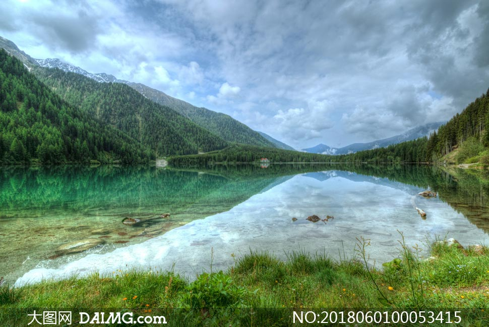 青山绿水美丽风景高清摄影图片素材