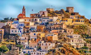 希腊卡尔帕索斯岛风光摄影高清图片