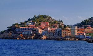 意大利的厄尔巴岛风光摄影高清图片
