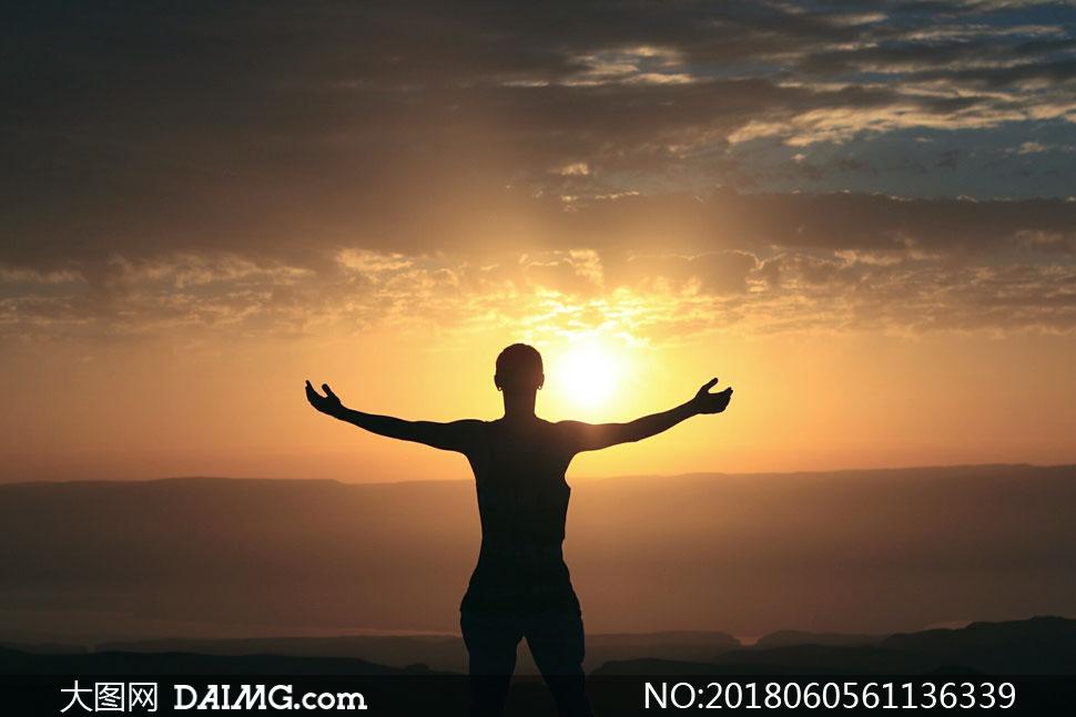 cc0; 關 鍵 詞: 高清圖片大圖素材攝影自然風景風光人物剪影陽光光線