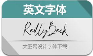 ReillyBeck(英文字体)