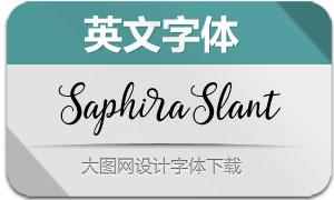 Saphira-Slant(英文字体)