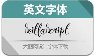 SeillaScript(英文字体)