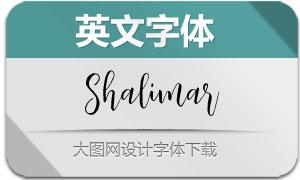 Shalimar(英文字体)