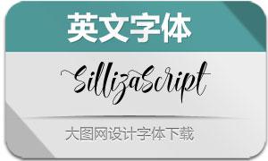 SillizaScript(英文字体)