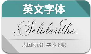 SolidarithaScript(英文字体)