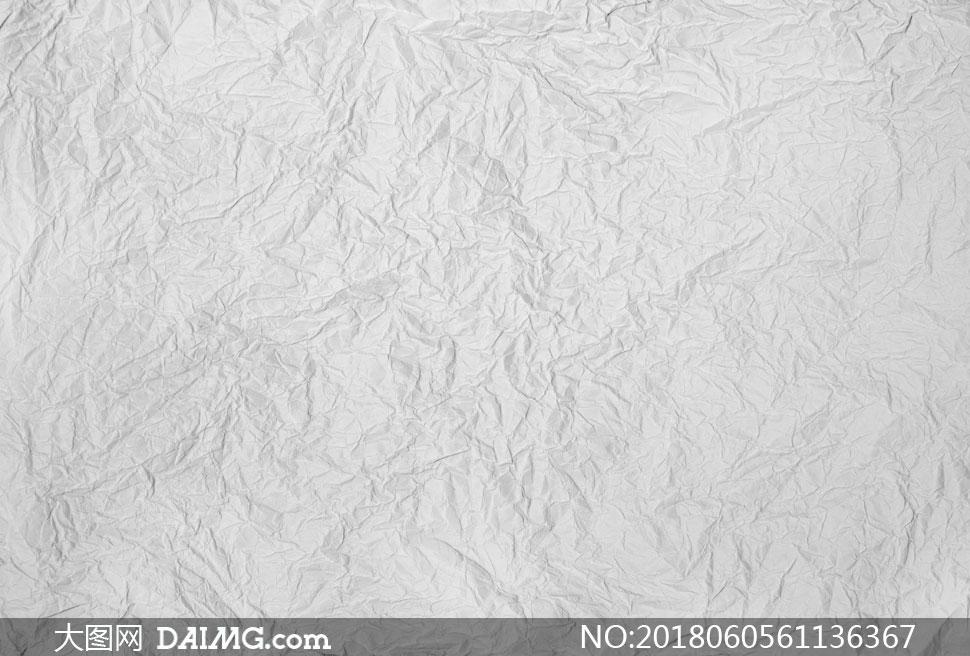 灰色褶皱效果纸张纹理背景高清图片
