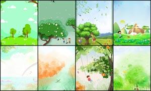 时尚插画主题海报背景大红鹰娱乐大红鹰娱乐备用网