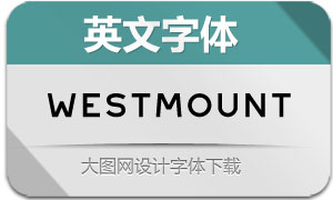 Westmount-Light(英文字体)