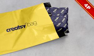包装袋与包装用纸适用贴图分层模板