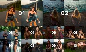 15款人像照片时尚胶片效果LR预设