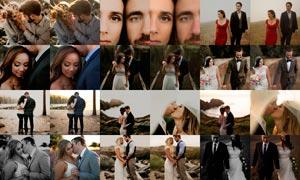 21款婚礼照片电影主题效果LR预设