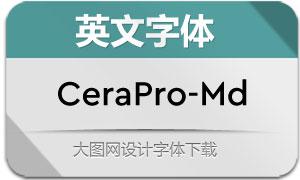 CeraPro-Medium(英文字体)