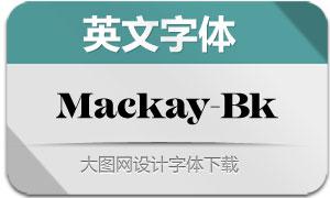 Mackay-Black(英文字体)