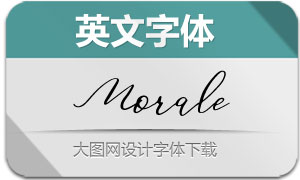 Morale-Regular(英文字体)