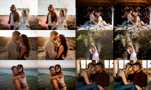 婚礼照片质感胶片艺术效果ACR预设