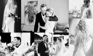 3套欧美婚礼高质量黑白效果LR预设