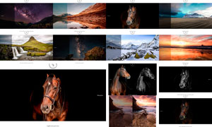 175款风景照片后期美化预设和动作