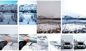 数码照片高亮白色主题效果LR预设