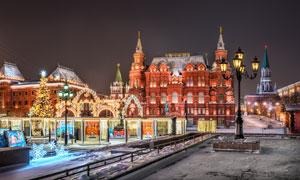 俄罗斯国家历史博物馆摄影高清图片