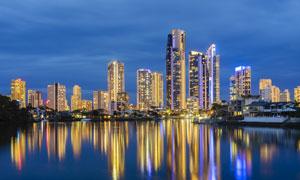 澳大利亚黄金海岸建筑摄影高清图片