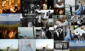 婚礼照片黑白和胶片效果LR预设
