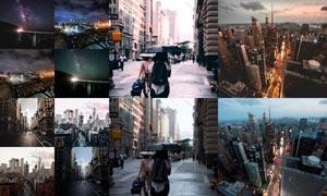 城市照片复古暖色艺术效果LR预设