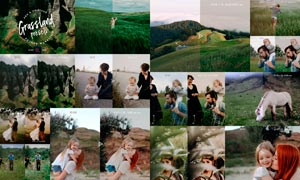 28款草原摄影照片后期美化ACR预设