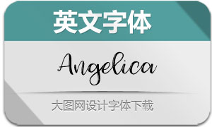 Angelica-Regular(英文字体)