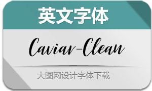 Caviar-Clean(英文字体)
